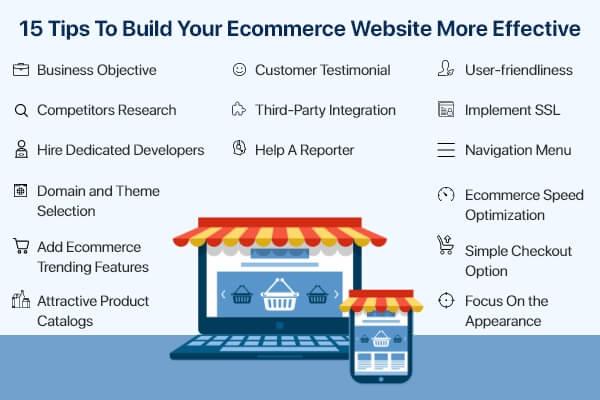 Ecommerce Website Development Tips
