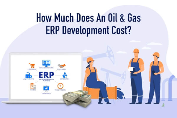Cost to Develop Oil and Gas ERP Software