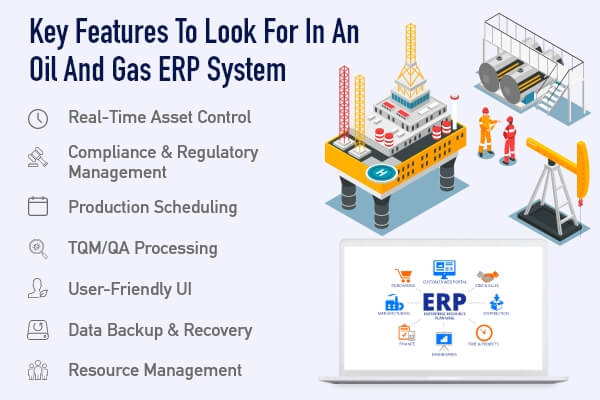 Features for Oil n Gas ERP Development