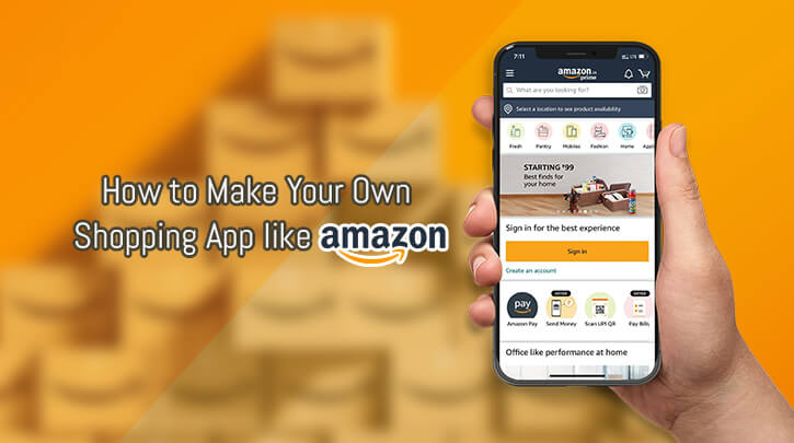 How to Make an App Like Amazon