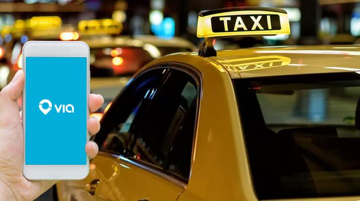 App like Via Taxi