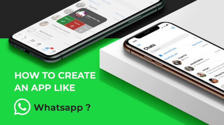 create app like whatsapp