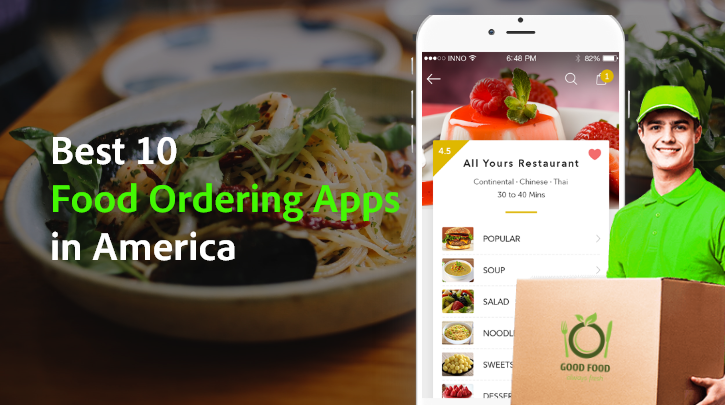 Top 10 Most Popular On-Demand Food-Delivery Apps in the USA