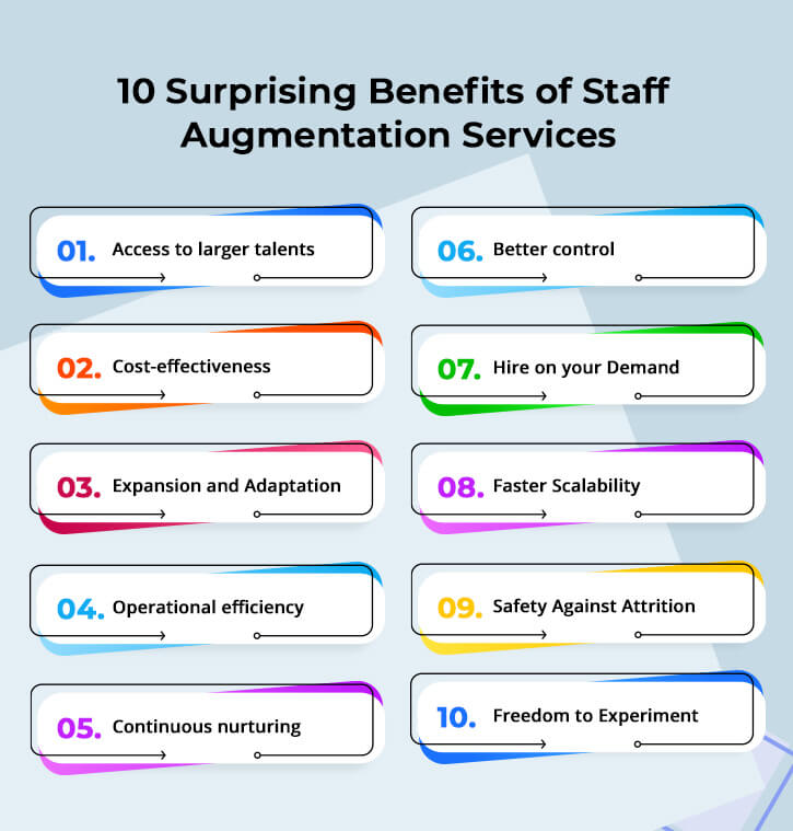 Advantages of Staff Augmentation