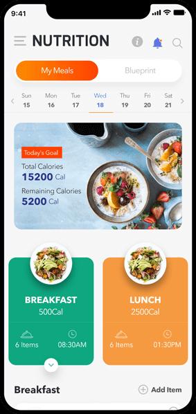 Fitness 360- Android Mobile App Development