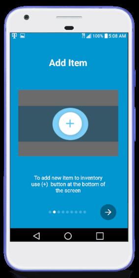 Add Item Screen