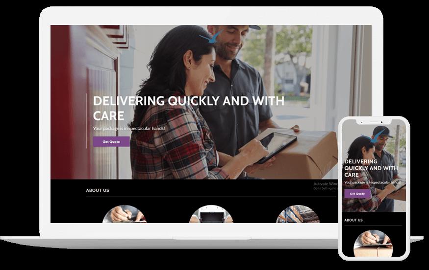 Shipbird- Website development services