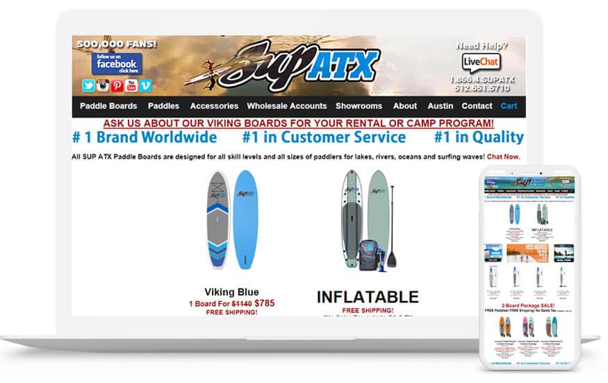 Supatx- Ecommerce Website Development