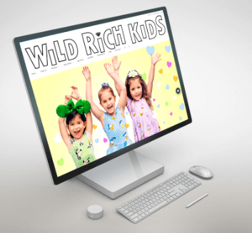 Wild Rich Kids- Web Application Development