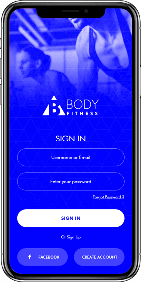 Body Fitness- Android Mobile Application Services